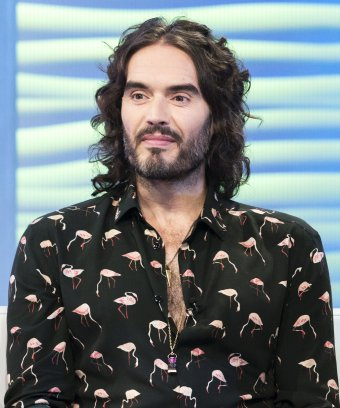 A photo of Russell Brand.