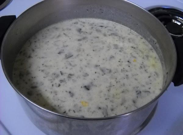 Corn & Mushroom Chowder Recipe