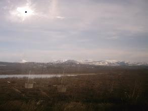 Photo: Kesäyönaurinko joudutti vaihtotyötä ja noin tunnin kuluttua matka jatkui.kello oli 19.00