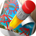 Draw on Pictures - Doodle Drawing Tool icon