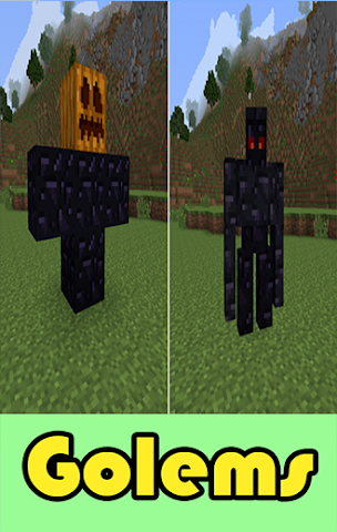 android Golems mods for mcpe Screenshot 0
