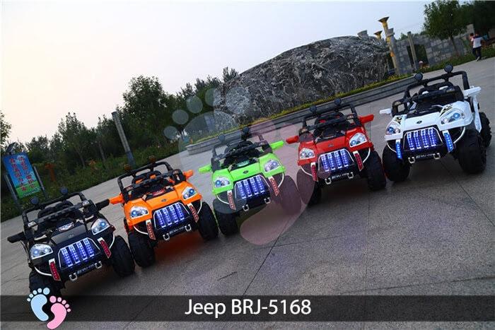 Xe oto điện cho bé Jeep BRJ-5168 1