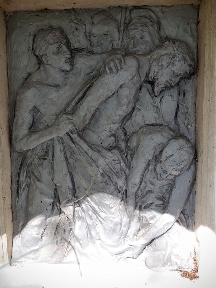 Városlőd - Szent Anna kálváriakápolna a keresztúttal