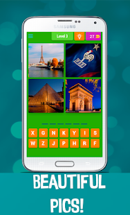 4 Pics 1 Word - Country Quiz- screenshot thumbnail