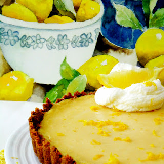 Eight Years of Blogging and a Limoncello Tart