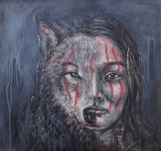 """Photo: Native women series - """"At your own risk"""" (34"""" X 36"""")"""