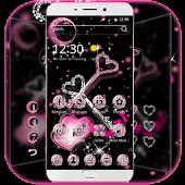Glitter Love Diamond Key Theme Android APK Download Free By Trusty Rabbit Studio