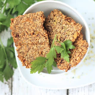 Super-Seed Crackers from Oh She Glows Every Day.