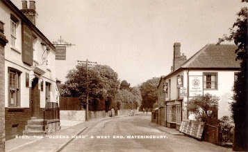 Photo: The Queens Head & Bolts Newsagents - Tonbridge Road Wateringbury