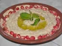 -Add tahini sauce, yogurt vinegar and salt. Combine well in a mixing bowl .