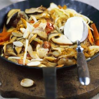 Sauteed Mushroom Curry