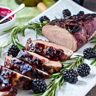 Blackberry & Rosemary Pork Tenderloin.