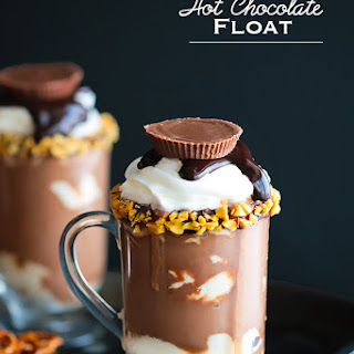 Peanut Butter Hot Chocolate Float