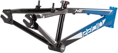 Radio Helium  BMX  Race Frame - Black / Cyan alternate image 0