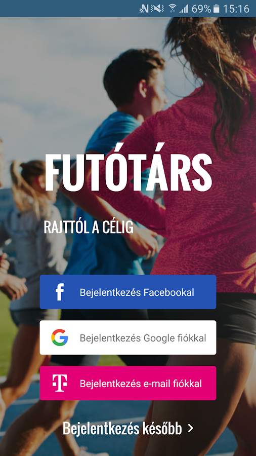 Futótárs- screenshot