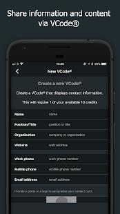 VCode - náhled