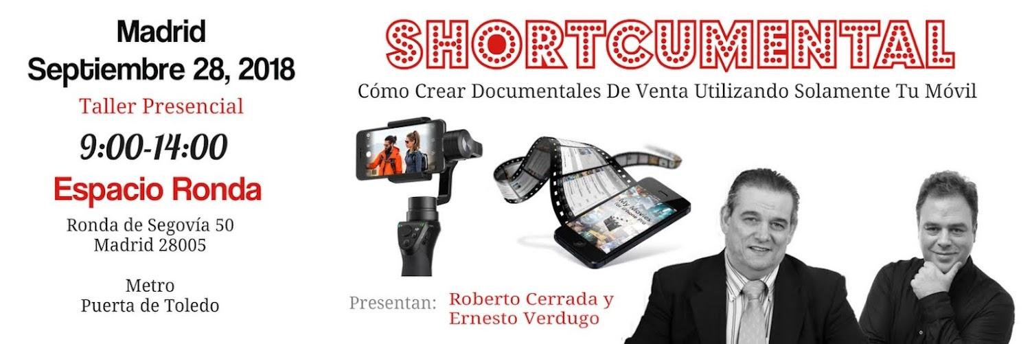 SHORTCUMENTAL Con Roberto Cerrada y Ernesto Verdugo