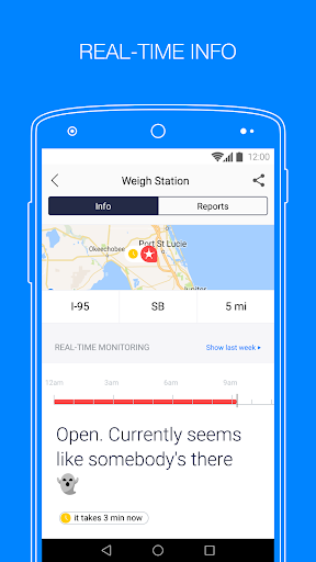Jack Reports – weigh stations screenshot