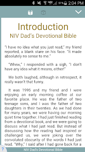 NIV Dad's Devotional Bible - náhled