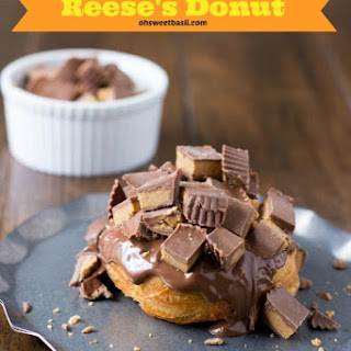 Homemade Reese's Donuts