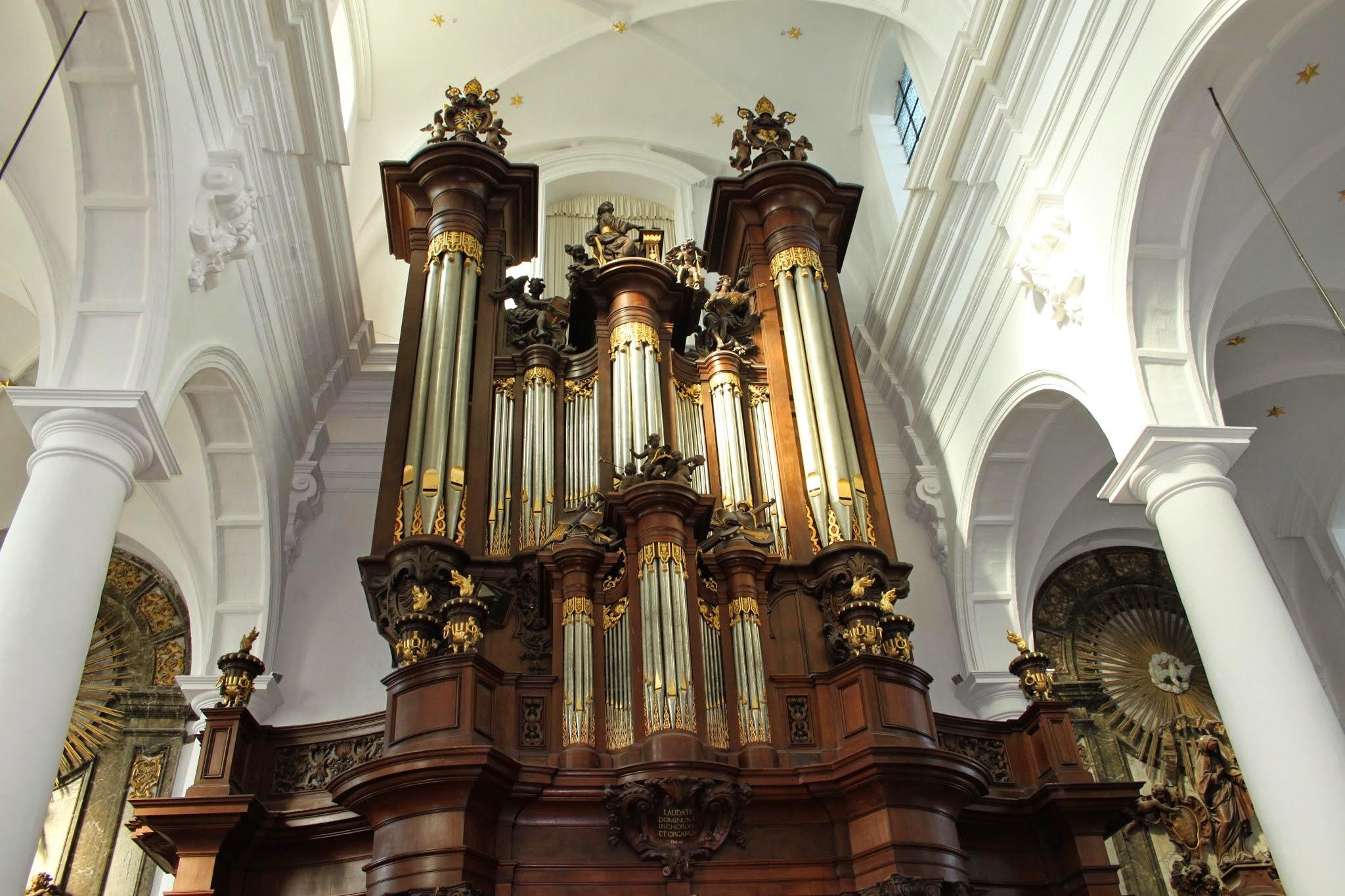 Photo: Het orgel werd in 1728 vervaardigd door de beroemde orgelbouwer Jean-Batiste Forceville.