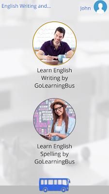 English Writing and Spelling - screenshot