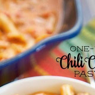 One Pot Chili Cheese Pasta