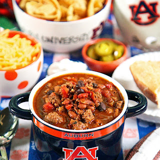 {Slow Cooker} Spicy Touchdown Chili