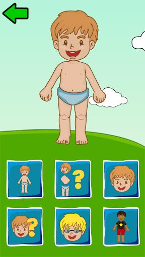 Body Parts for Kids 1.2 screenshots 1