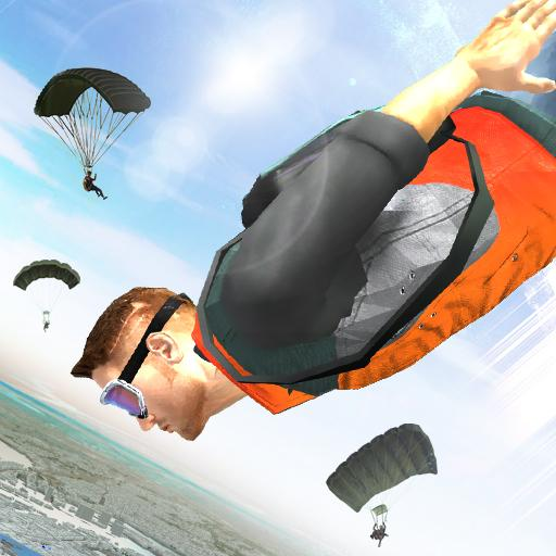 Wingsuit Simulator 3D - Skydiving Game Icon
