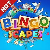 Bingo Scapes - Lucky Bingo Games Free to Play Icon