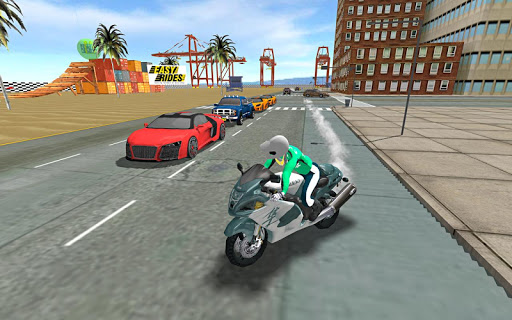 Sports bike simulator Drift 3D apkpoly screenshots 24