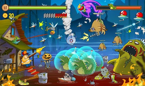 Swamp Attack MOD APK 4.0.6.94 [Unlimited Money] 4