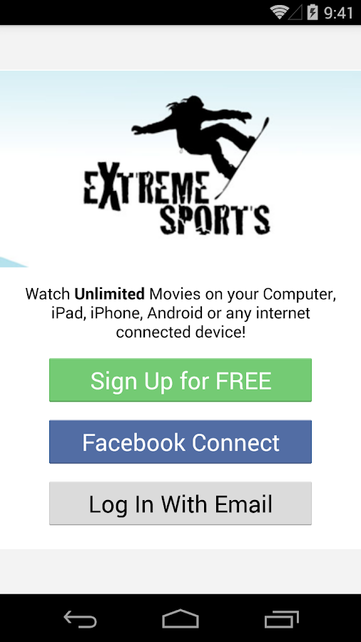 Extreme Sports Movies & TV- screenshot