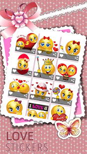 Love Stickers - Valentine - náhled
