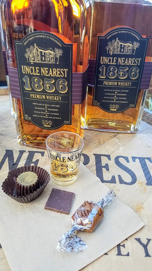 Uncle Nearest - the greatest whiskey maker the world never knew now being honored and getting his name to be known via Uncle Nearest 1856 Premium Whiskey, and there are several special chocolates and candy from Xocolatl de David, Alma Chocolate, and Quin Candy