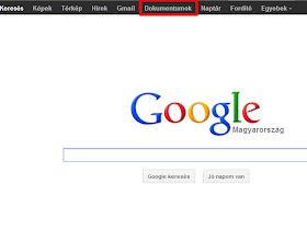 Photo: google nyitó oldal