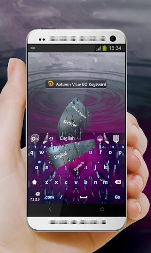 玩個人化App 秋ビュー GO Keyboard免費 APP試玩