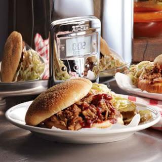 Bryan Voltaggio's Pulled Pork Sandwiches.