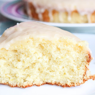 Lemon Cake With Glaze