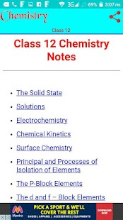 Class 12 Chemistry Notes- screenshot thumbnail