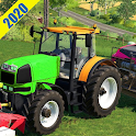 Drive Real Farming Tractor Cargo Simulator 2020 icon