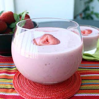High Protein Strawberry-Banana Shake.