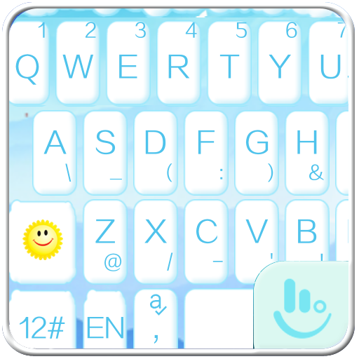 Snowman Keyboard Theme 通訊 App LOGO-APP開箱王