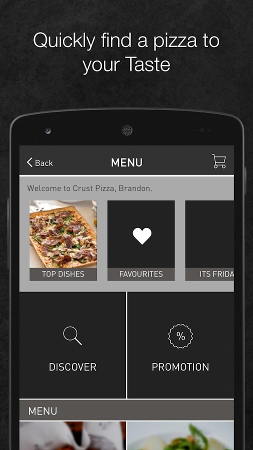 Crust Pizza SG- screenshot
