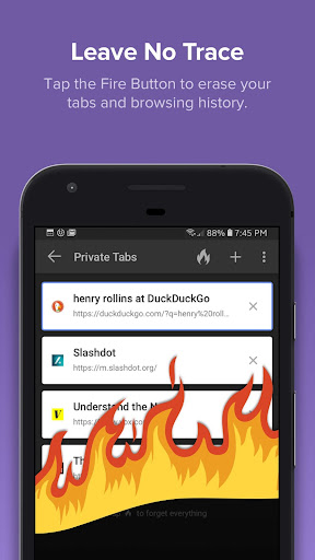 DuckDuckGo Privacy Browser 5.15.1 screenshots 2
