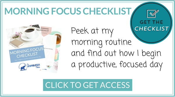 "morning routine for productivity | time management for artists | How to Find the Time to ""Do It All"" + free printable morning checklist for focus and creativity → http://schulmanart.blogspot.com/2017/04/how-to-find-time-to-do-it-all.html"