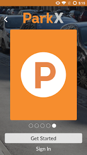 ParkX - Mobile Payment Parking- screenshot thumbnail