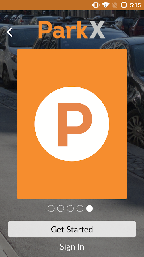 ParkX - Mobile Payment Parking- screenshot