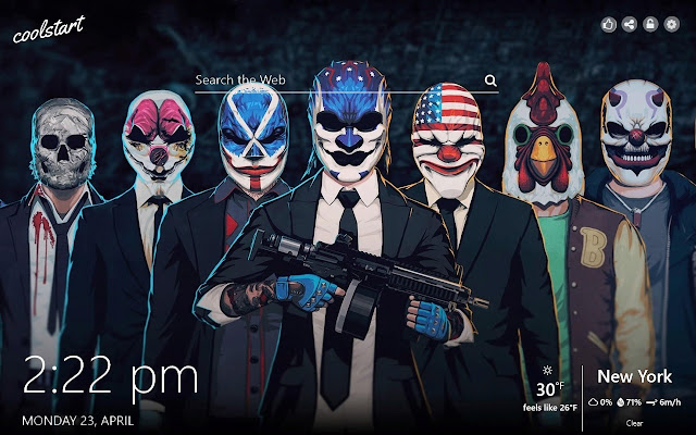 PayDay 2 HD Wallpapers Games Theme